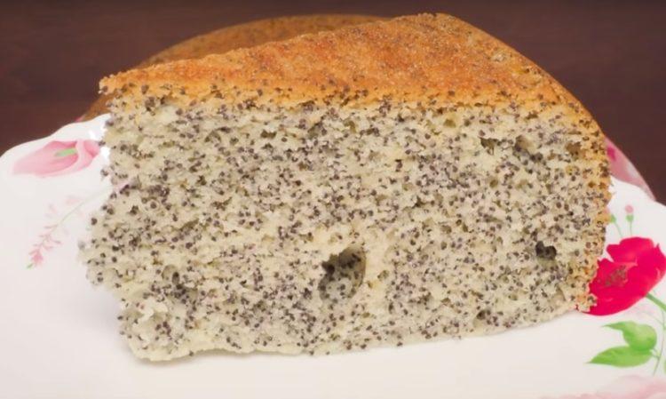 Готовим в мультиварке: обалденный маковый бисквит