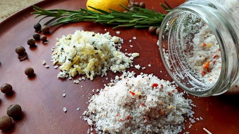 Ароматная чесночная соль для приготовления пищи: делаем сами