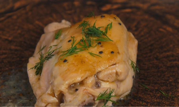 Обалденная курочка в маринаде из киви