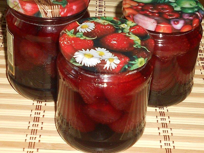 Идеальное клубничное варенье - ягодка к ягодке