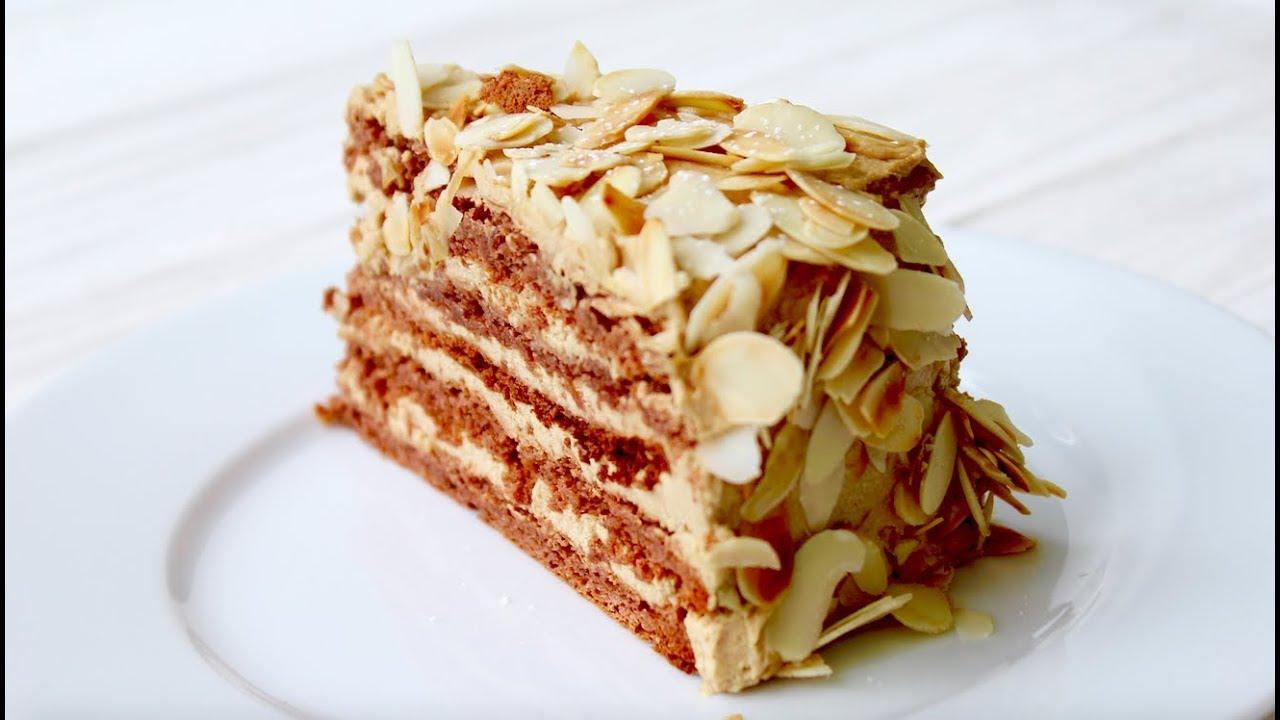 """Миндальный торт """"Агнес Бернауэр"""" - очень вкусный"""