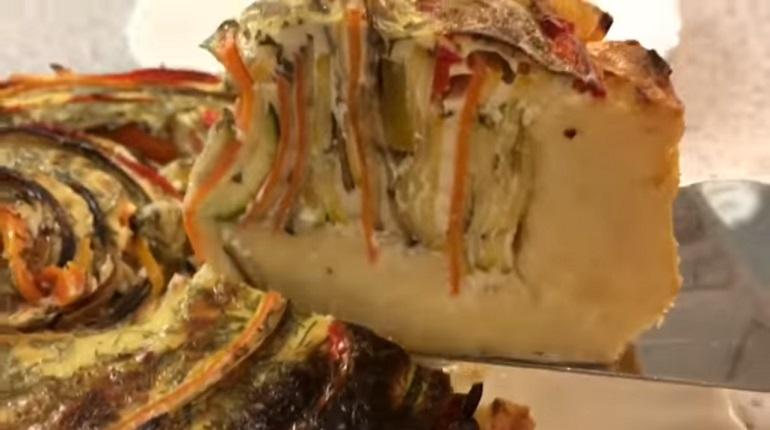 Обалденный картофельный пирог с овощами: идея для воскресного обеда