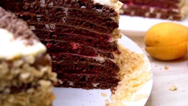 Обалденный торт на сковороде: не надо раскатывать коржи
