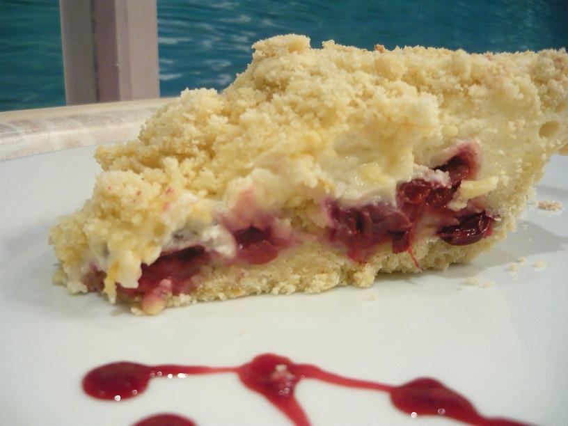 Настоящее блаженство! Нежнейший пирог с вишней и творогом