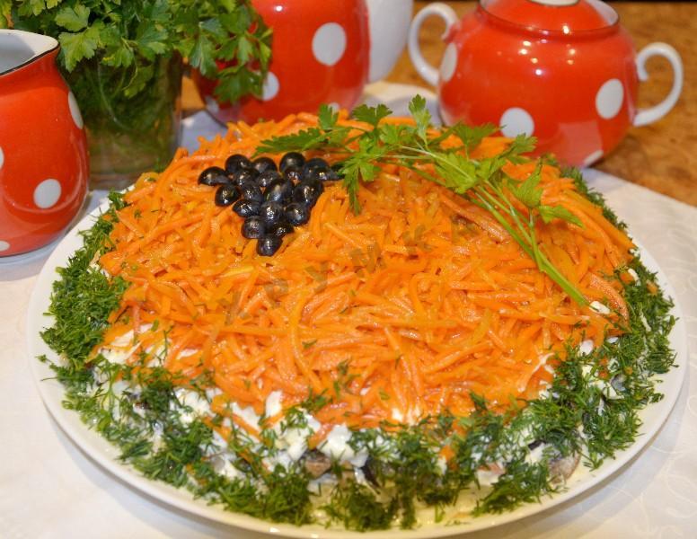 """Изумительный и очень красивый салат """"Изабелла"""""""