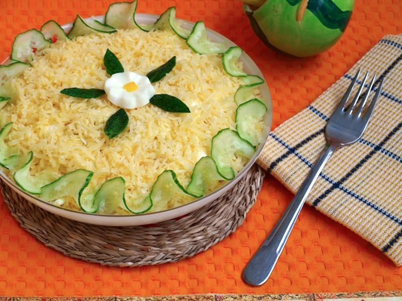 """Невероятно вкусный салат """"Мужской каприз"""""""