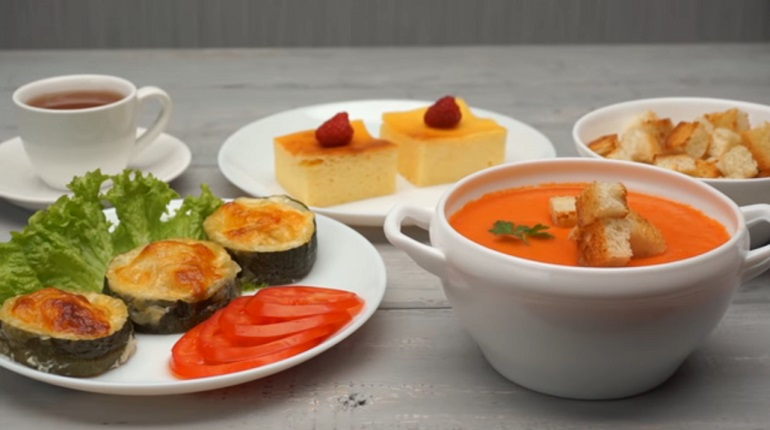 Шикарный летний обед из 3-х блюд: покорит всех простотой и вкусом