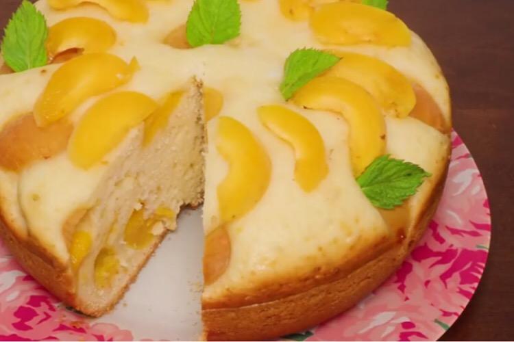 Готовим в мультиварке: отменный пирог с абрикосами