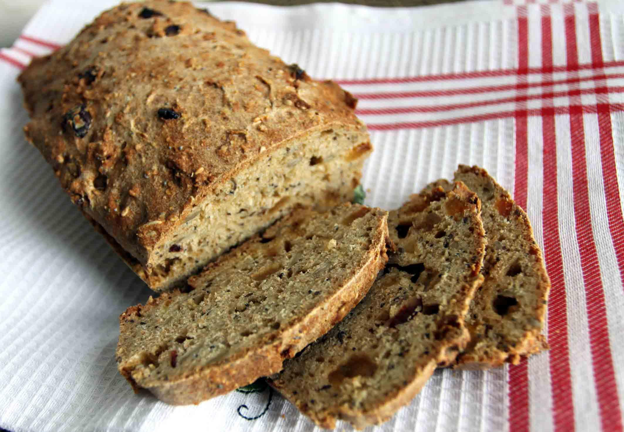 Вкуснейший бездрожжевой хлеб без замеса