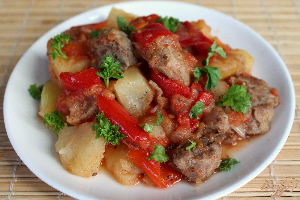 Ужин без возни - мясо с овощами в рукаве