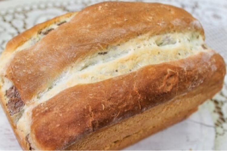 """Восхитительный сладкий хлеб """"Пятнистый"""""""