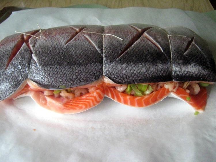 Рыбная бандероль - готовим ресторанное блюдо в домашних условиях