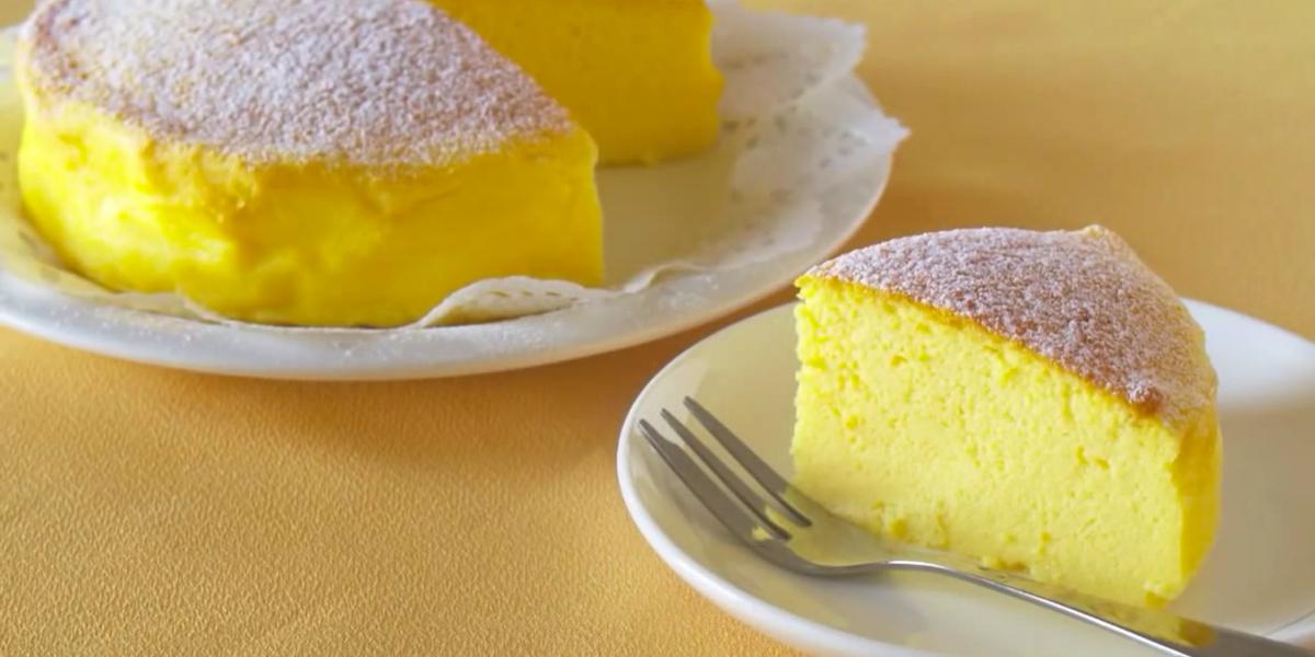 Невероятно вкусный японский тортик: без муки и без глютена