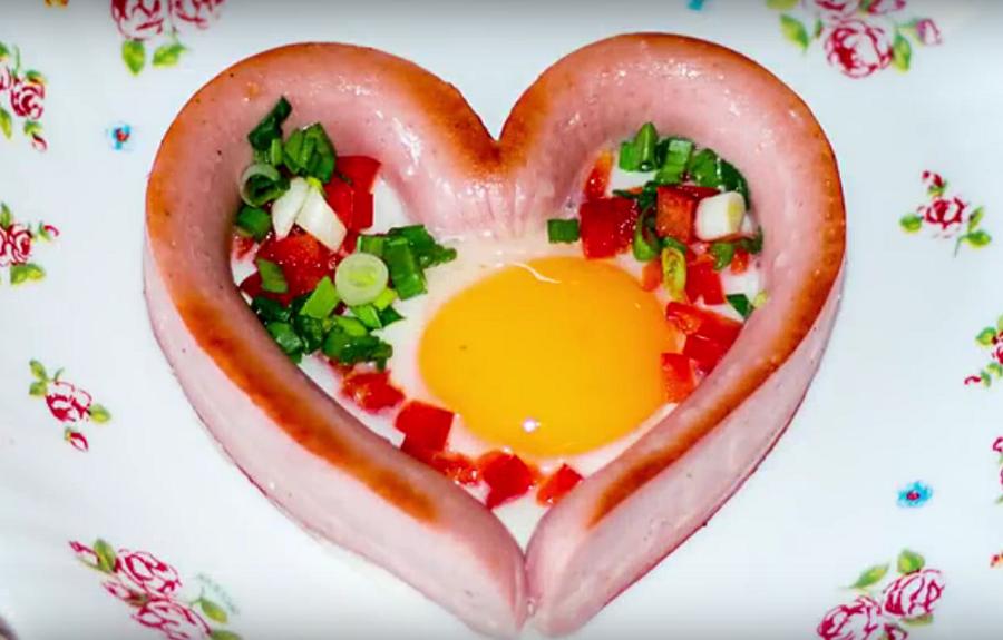Легкий и красивый завтрак для хорошего настроения в выходные дни