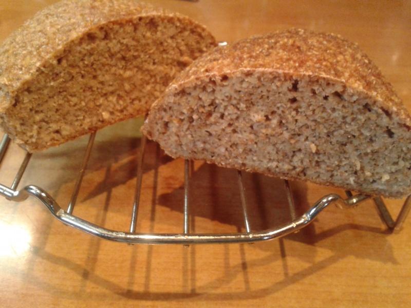 Очень полезный творожный хлеб с отрубями