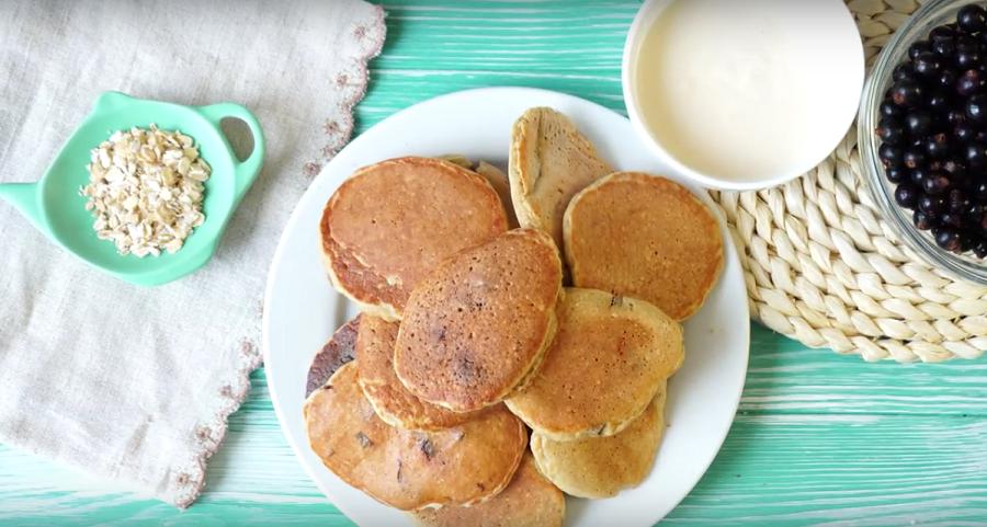 Сладкие оладушки без муки и сахара: ПП завтрак