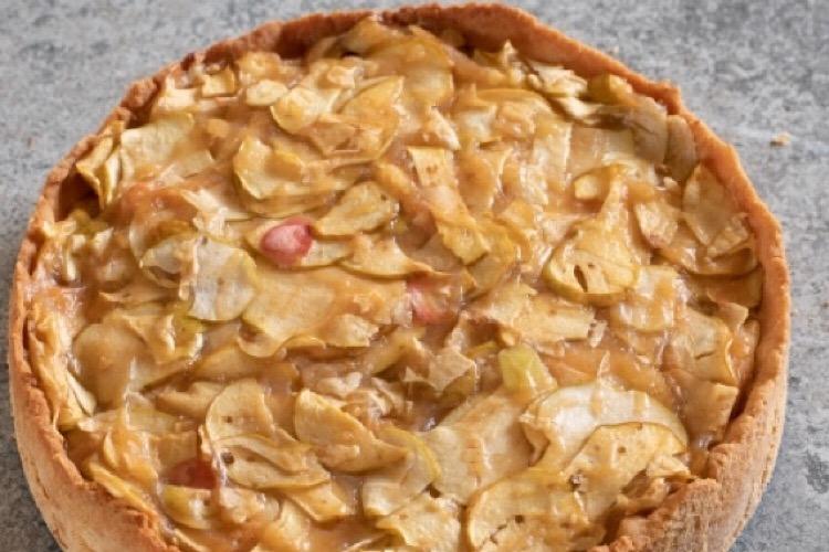 Обалденный яблочный торт