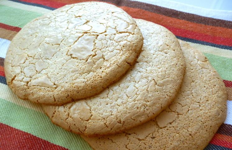 Невероятно вкусное миндальное печенье