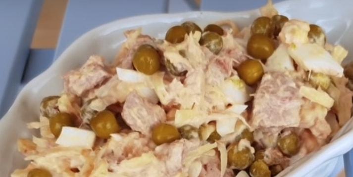 """Вкуснейший салат """"Дальневосточный"""""""