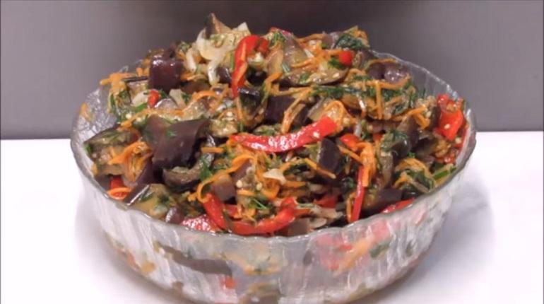 Баклажаны по-корейски: вы полюбите этот салат с первой ложки