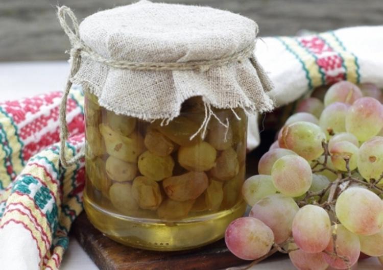 Очень оригинальное варенье из винограда