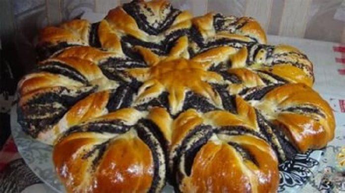 Великолепный праздничный пирог с маком