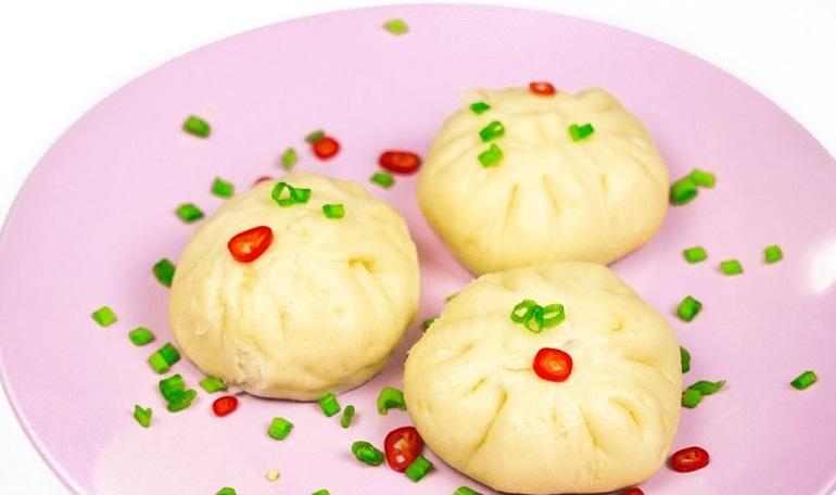 Самые вкусные паровые булочки с начинкой