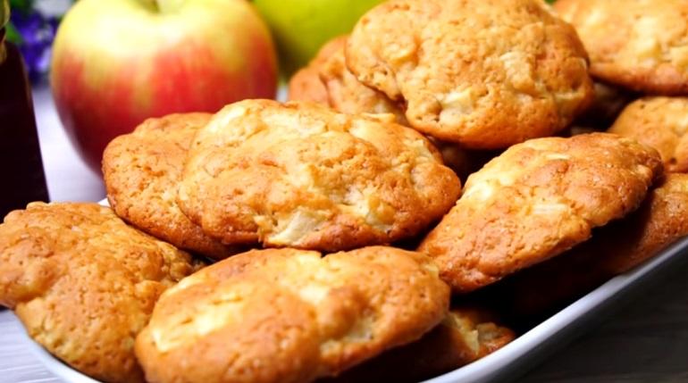 Мягкое яблочное печенье: остановиться невозможно