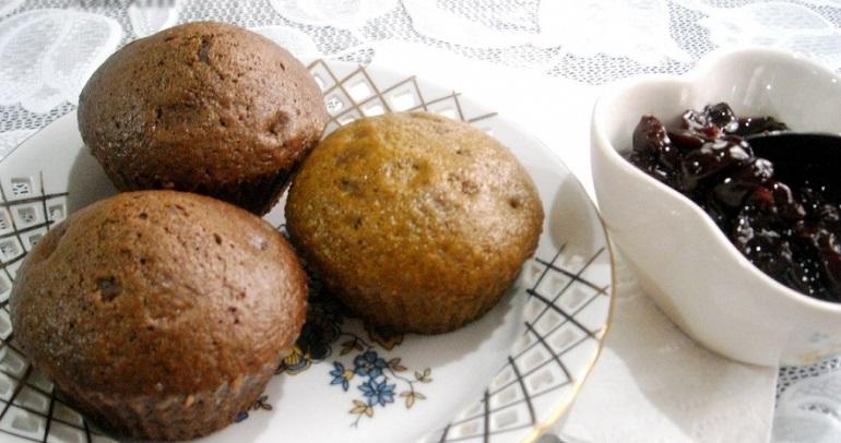 Постные кексы из компота: диетическая выпечка для всех