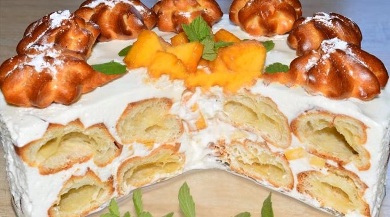 Торт без выпечки «а-ля Дамские пальчики»: простейший десерт к чаю