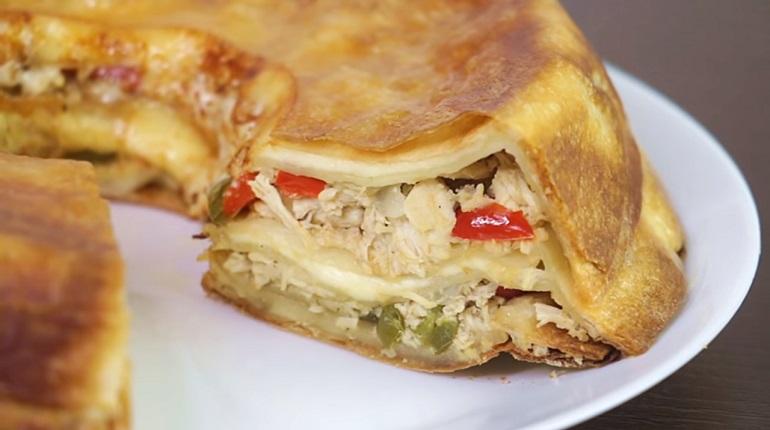 Закусочный пирог из лаваша: покорит всех своим вкусом