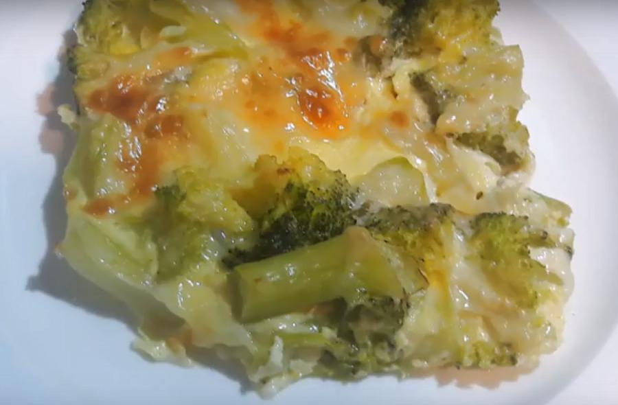Запеканка из брокколи-нежная, сочная, вкусная и без майонеза