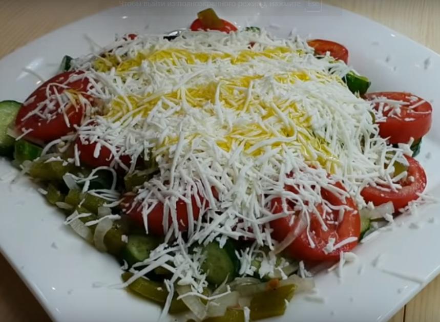 Салат, который хочется еще и еще-популярный рецепт