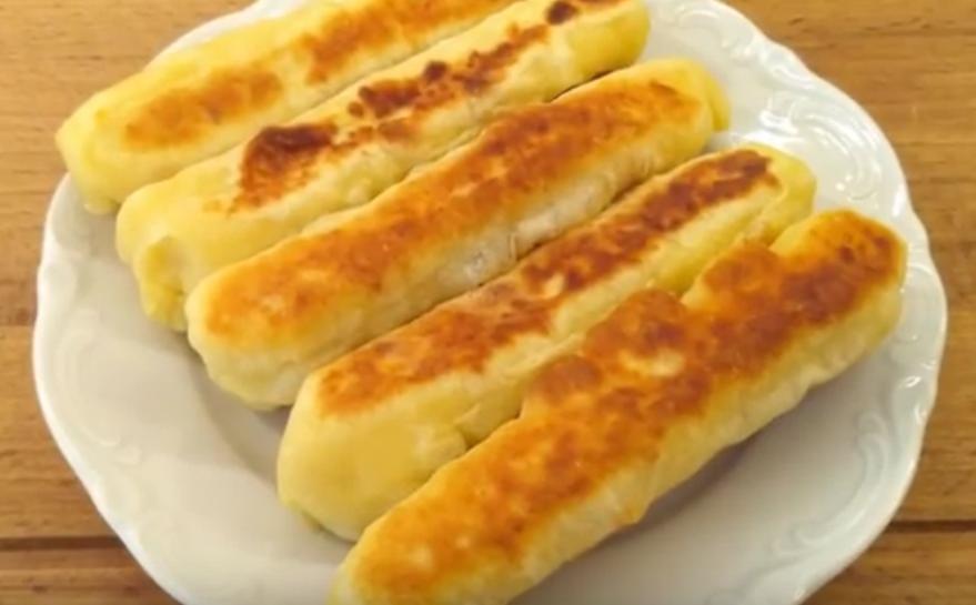 Творожные палочки из сырного теста-супер закуска за 15 минут