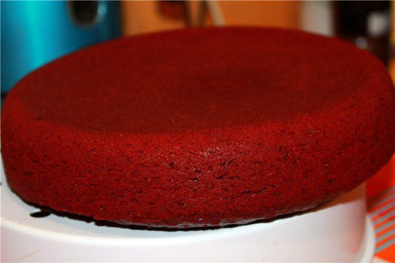 Коржи для самого вкусного торта «Красный бархат»