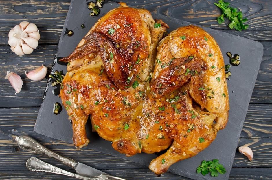 Очень вкусная курица по-аджарски