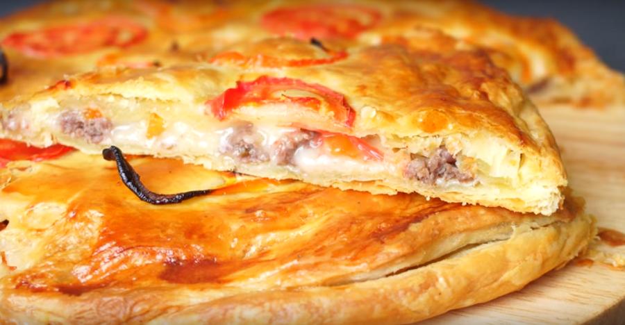 Быстрый перекус-обалденная пицца на скорую руку