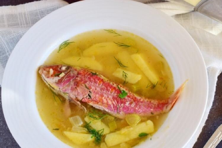 Аппетитный рыбный супчик из барабульки