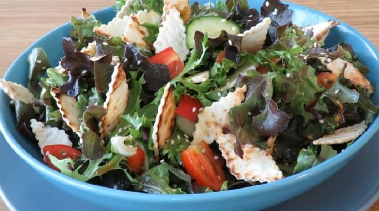 Идеальный овощной салат с фантастической заправкой