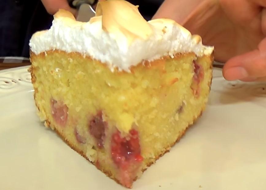 Потрясающий Лигурийский лимонный пирог