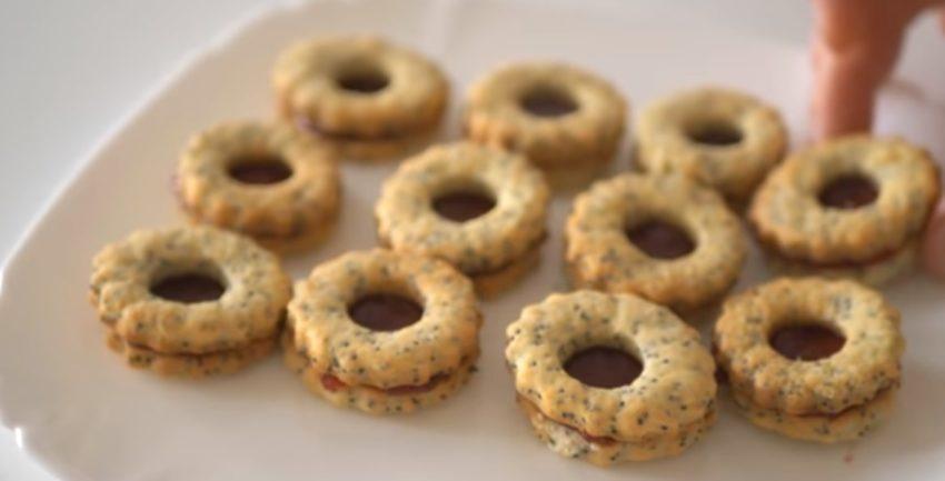"""Вкусное печенье с маком """"Утиные глазки"""""""