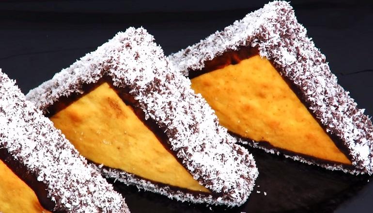 Бисквитное пирожное на скорую руку: сладкоежки будут в восторге