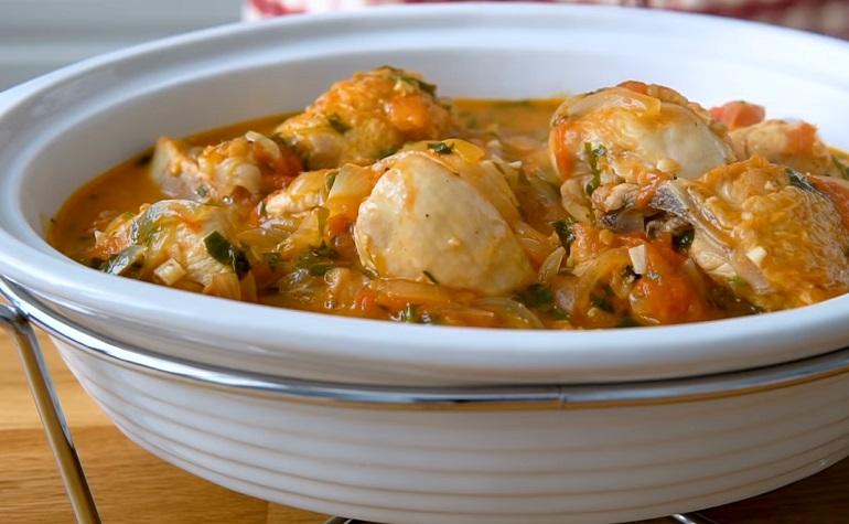 Чахохбили из курицы: ароматное, вкусное и простое блюдо
