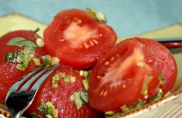 Самые лучшие остренькие помидоры на закуску