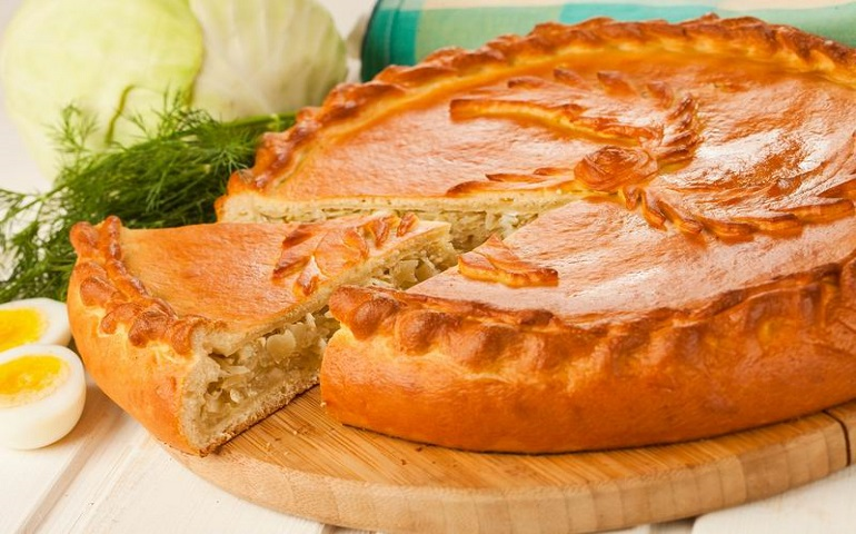 Великолепный пирог с капустой: для любителей домашней выпечки