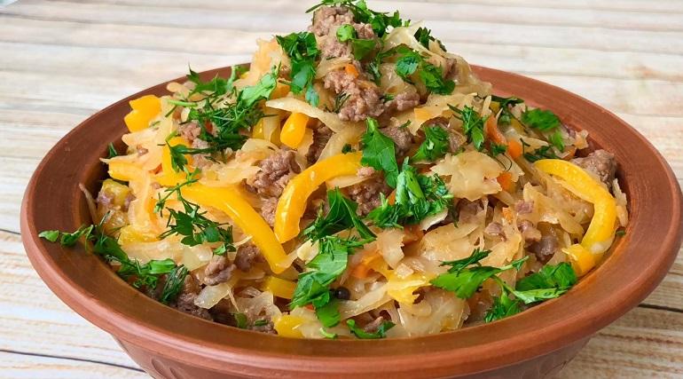 Капуста по-деревенски на обед или ужин: что может быть проще и вкуснее?
