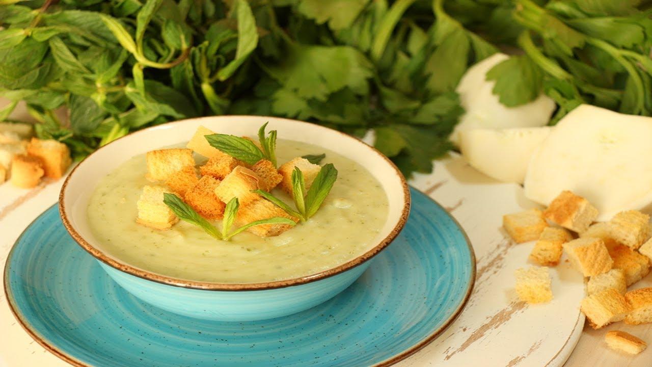 Суп из сельдерея - необыкновенно вкусный и нежный