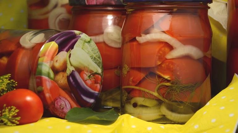Помидорные чудо-дольки: закрываем помидоры на зиму