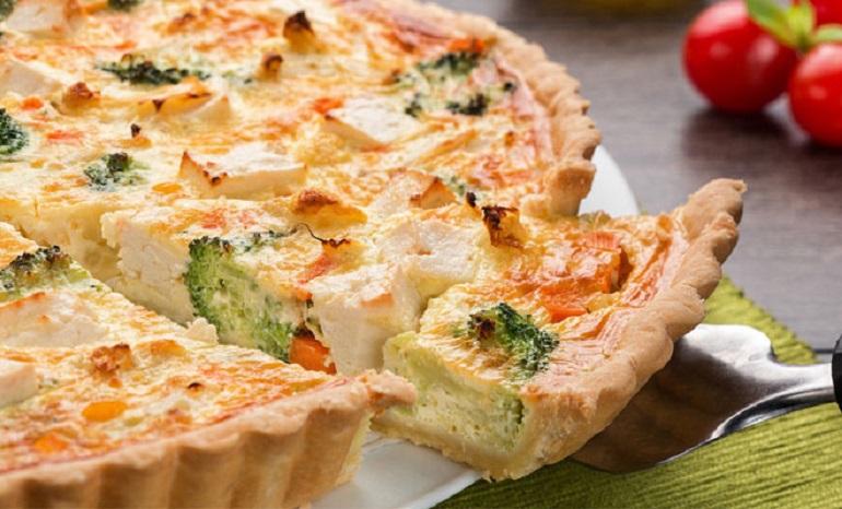 Сырный пирог с цветной капустой: изумительная выпечка