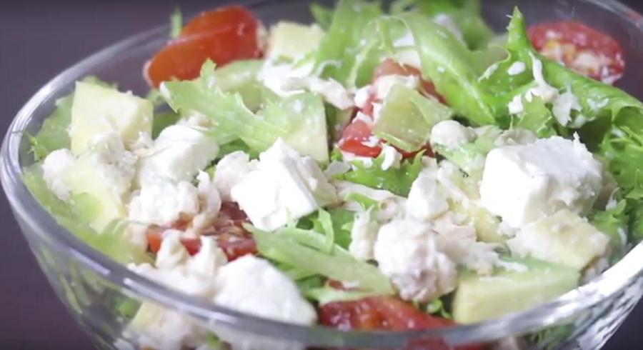 4 ПП рецепта салатов меньше 200 ккал - едим и худеем
